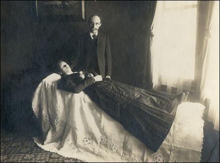 Introducción a la fotograf�a post mortem.